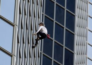 SPIDERMAN ALAIN ROBERT