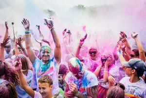 SWEDEN-LIFESTYLE-COLOR-RUN