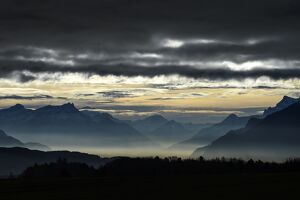 SWITZERLAND-WEATHER-MOUNTAINS-ALPS