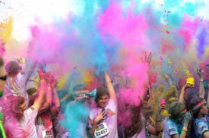 SYDNEY AUSTRALIA-COLOR-RUN