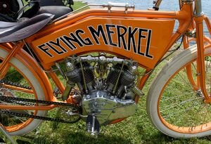 US-CLASSIC - FLYING MERKEL RACER - 1913