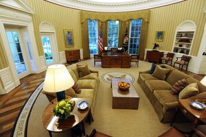 US-POLITICS-WHITE HOUSE-OVAL OFFICE