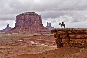 US-TOURISM-MONUMENT VALLEY-HORSE