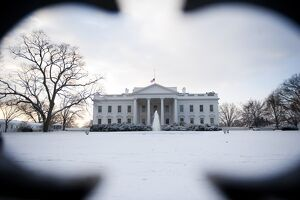 US-WEATHER-WASHINGTON-SNOW