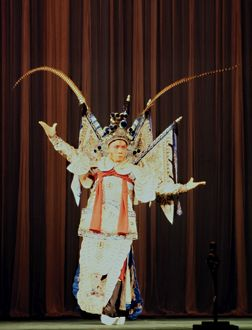 Male Peking Opera Performer. Human Face of China, The. 1979.