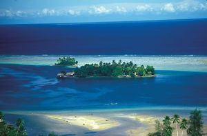Small Island. Solomon Islands, 1979.