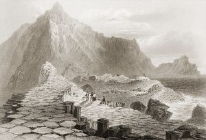 The Giant's Causeway, County Antrim, Ireland, from 'Scenery and Antiquities