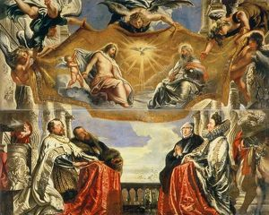 artists/peter paul rubens/gonzaga family adoration holy trinity oil canvas