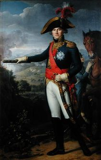 Jean Mathieu Philibert Serurier (1742-1819) Comte d'Empire (oil on canvas)