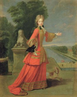 Marie-Adelaide de Savoie (1685-1712) in Hunting Dress, c.1704 (oil on canvas)