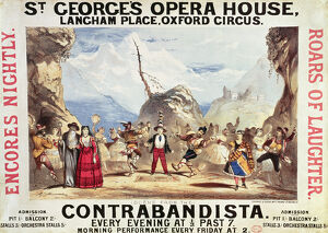 Poster advertising St.George's Opera House