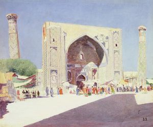 Samarkand, 1869-71 (oil on canvas)