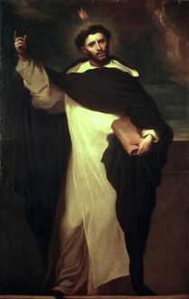 St. Dominic (oil on canvas)