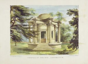 Temple of Victory, Kew Gardens, plate 19 from 'Kew Gardens: A Series of Twenty-Four