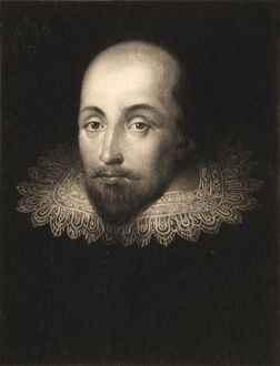 William Shakespeare (1564-1616), engraved by Charles Turner (1773-1857) (engraving)