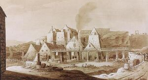 Works at Blaenavon, from 'An Historical Tour in Monmouthshire' by William Coxe
