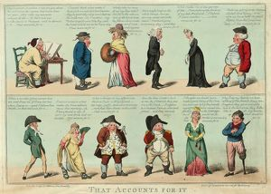 That accounts for it, Cruikshank, Isaac, 1764 1811, engraver, London, engraving 1799