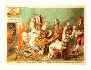 Advantages of wearing muslin dresses!, Gillray, James, 1756-1815, engraver, [London] : H