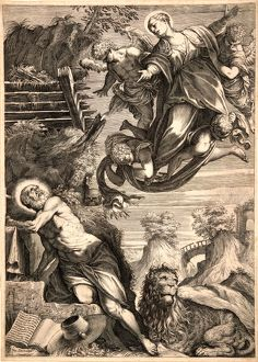 Agostino Carracci (Italian, 1557-1602) after Jacopo Tintoretto (Italian (Venetian)