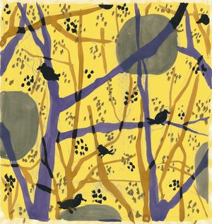 Anna Zaliski, fine art of nature. Trees and birds in my garden 2 Anna Zaliski loves
