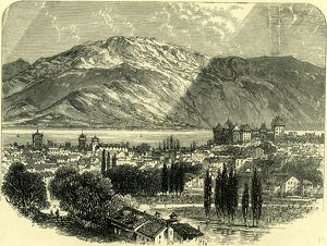 ANNECY, Switzerland, 19th century