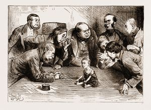 THE BOARD OF GUARDIANS TOOK A GOOD LOOK AT GINX'S BABY, 1876