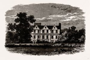 BOSTON HOUSE, from an old Print of 1799