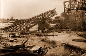 Bridge near Jambourg, on the river Luga, destroyed and the city was taken by the