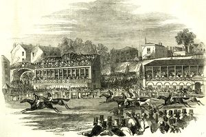 Chester, U.K., 1846, Chester races. The race for the Cup