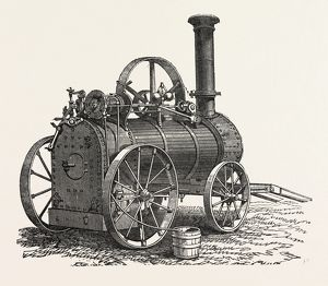 CLAYTON, SHUTTLEWORTH, AND CO.'S PORTABLE STEAM ENGINE