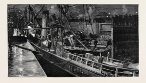 COLLISION OF THE S.S. 'CONSTANCIA' AND 'PRIMUS' IN DOCK AT NEWPORT