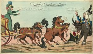 Consular coachmanship!!, Holland, William, active 1782-1817, publisher, London, engraving