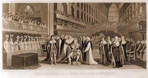 The coronation of King George the fourth / engraved by J. Chapman from a painting by J