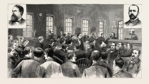 THE CRONIN TRIAL AT CHICAGO USA, THE COUNSEL FOR THE DEFENCE CROSS-EXAMINING MR. ToLLMAN