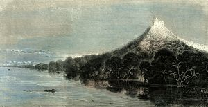 Cuntamana Mountain, Peru, 1869