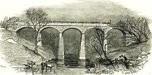 Eamont Viaduct, U.K., 1846, opening of the Lancaster and carlisle Railway