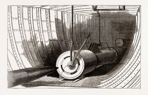 TH1 GUN OF ERICSSON'S TORPEDO-BOAT THE 'DESTROYER