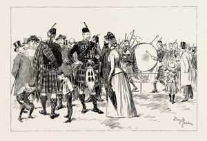 THE HIGHLAND GATHERING IN PARIS, FRANCE, 1889