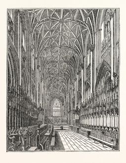 Interior of the Choir of York Minster