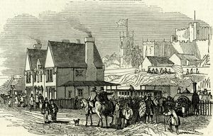 Lancaster Station, U.K., 1846, Opening of the Lancaster and Carlisle Railway