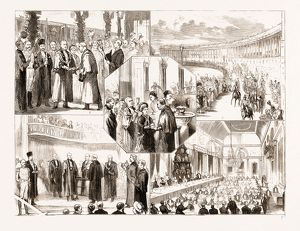 THE LORD MAYOR OF LONDON'S STATE VISIT TO BATH, UK, 1876: 1