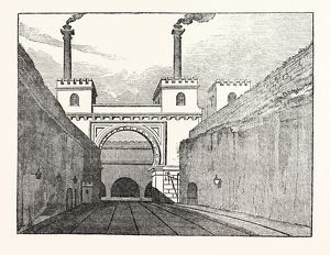 THE MANCHESTER AND LIVERPOOL RAILWAY: Moorish Arch