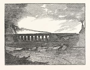 THE MANCHESTER AND LIVERPOOL RAILWAY: Sankey Viaduct