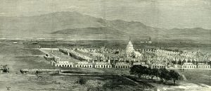 Mandalay, The King's Pagoda, Myanmar, 1885, the expedition against the king Theebaw