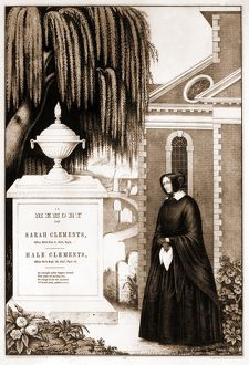 In memory of Sarah Clements, Hale Clements; [no date recorded on shelflist card]; 1 print