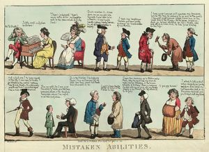 Mistaken abilities, Woodward, G. M. (George Moutard), approximately 1760-1809, engraving