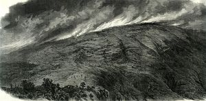 Mont Vuache; Switzerland; 1870; Haute Savoie; Fire; mountain