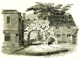 Newgate, Lincoln, U.K. 19th century