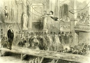 Oxford Music Hall; U.K.; 1862; the juvenile professors of the trapeze; Great Britain