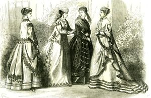 Paris, France, 1867, September Fashion